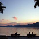 Beautiful Lago di Garda - Italy by Arie Koene