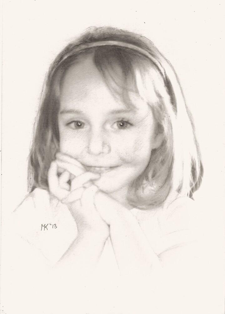 """Samantha"" by Martin Kirkwood"