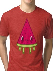 Watermelon Slice Tri-blend T-Shirt