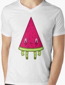 Watermelon Slice Mens V-Neck T-Shirt