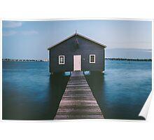 'Matilda Bay Boathouse' Poster