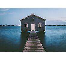 'Matilda Bay Boathouse' Photographic Print