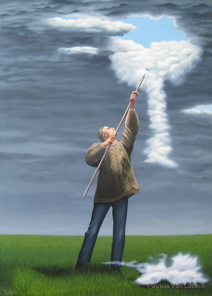 Cloud picker by Patricia Van Lubeck