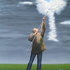 Cloud picker by Patricia Van Lubeck