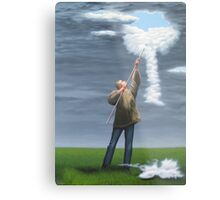 Cloud picker Metal Print