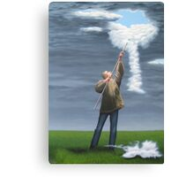 Cloud picker Canvas Print