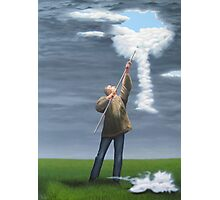Cloud picker Photographic Print