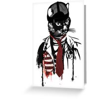 cats are confused Greeting Card