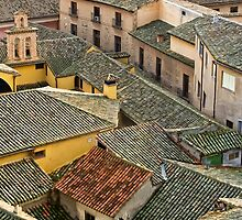 Rooftops in Toledo by vivsworld