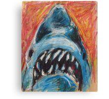 Paper Bag Jaws Canvas Print