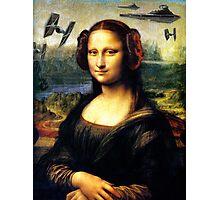 Mona Lisa versus the Empire Photographic Print