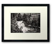 Pencil Pine Falls, Cradle Mountain, Tasmania, Australia Framed Print