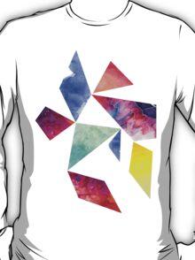 Geometric Watercolour T-Shirt