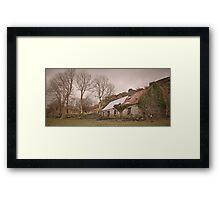 Tin Roof - Co. Kerry, Ireland Framed Print