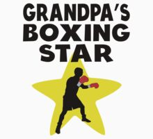 Grandpa's Boxing Star Kids Tee