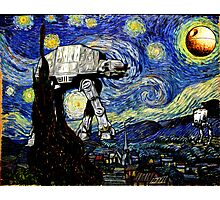 Starry Night versus the Empire Photographic Print
