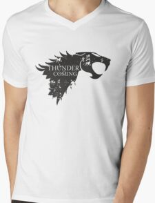 Thundercats is coming Mens V-Neck T-Shirt