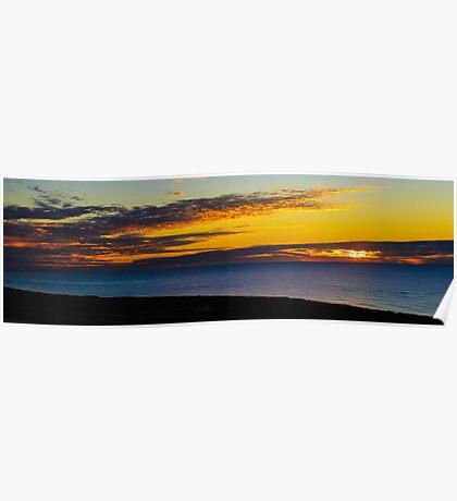 Ningaloo Sunset Poster