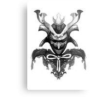Samurai XYZ Metal Print