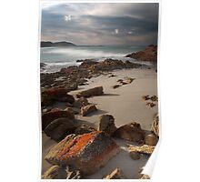 Friendly Beaches, Tasmania, Australia Poster
