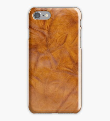 Old leather iPhone Case/Skin