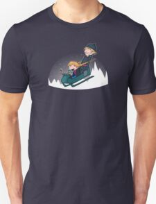 A Snowy Ride T-Shirt