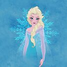 Elsa Frozen by BlancaMF