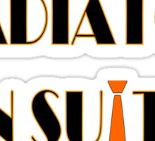 Gladiators in suits-Scandal Sticker