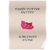 Harry Potter 1 Minimalist Poster (Variation) Poster
