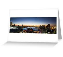 Docklands Panorama Greeting Card