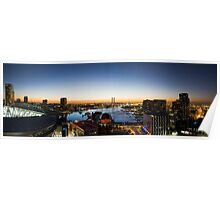 Docklands Panorama Poster