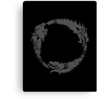 Elder Scrolls Emblem Canvas Print