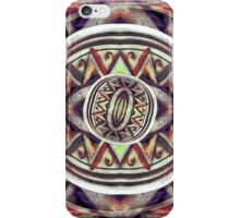 Primitive Scribble Artwork iPhone Case/Skin