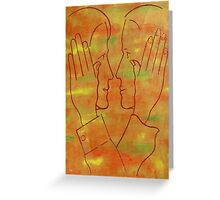 SAYING IT WITHOUT WORDS Greeting Card