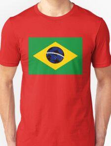 Brazilian flag and football T-Shirt