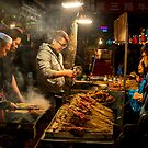 Street Barbecue 2 by Michael Pross
