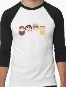 Eccentric Squad Men's Baseball ¾ T-Shirt