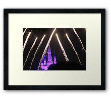 Cinderella Castle Wishes Framed Print