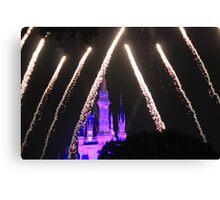 Cinderella Castle Wishes Canvas Print