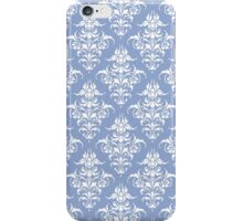Damask Pattern | Serenity & White | Pantone Color of the Year 2016 iPhone Case/Skin