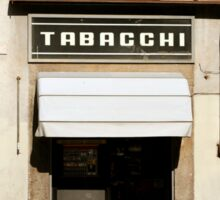 Italian Tobacconist Sticker