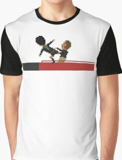 Kung Fu Kick Graphic T-Shirt