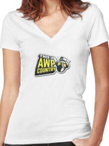 Counter Strike Women's Fitted V-Neck T-Shirt