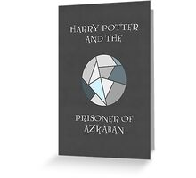 Harry Potter 3 Minimalist Poster Greeting Card