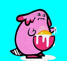 Chansey woop egg. by Nellow