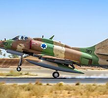 Israeli Air Force (IAF) Mcdonnell-Douglas A-4 Skyhawk by PhotoStock-Isra