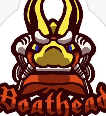 Boathead Sticker