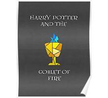 Harry Potter 4 Minimalist Poster Poster