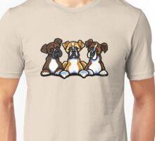 Three Boxers Unisex T-Shirt