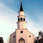 Little White Church in Alta, Norway by KarenMcDonald